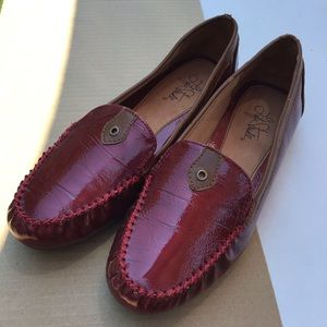 Life Stride Shoes - Life Stride Red Memory Foam Loafers Size 8